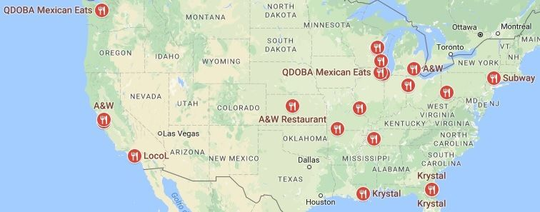 Pin By Places To Eat Near Me On Restaurants Fast Food Places Chinese Food Restaurant Food Places