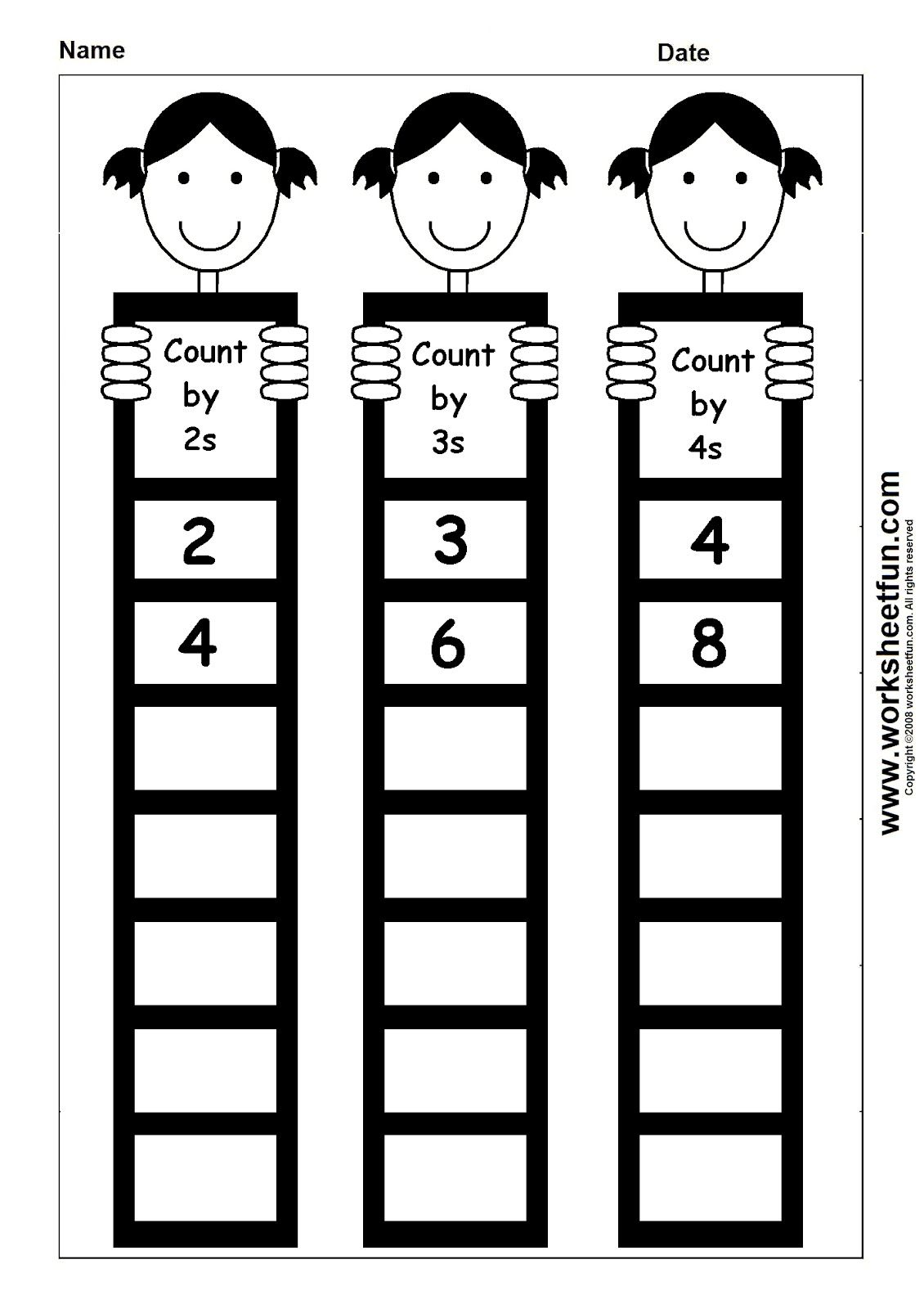 Maybe edit this for counting by 2,5,10 | First grade | Pinterest ...