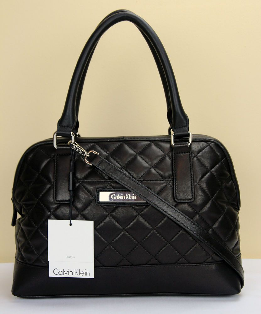 Calvin Klein quilted handbag. I fell in love with this bag. I wANT IT
