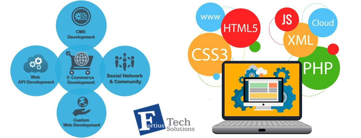 Best Web Development Services Company In Ahmedabad Fortius Tech Solutions Web Development Website Development Company Website Development