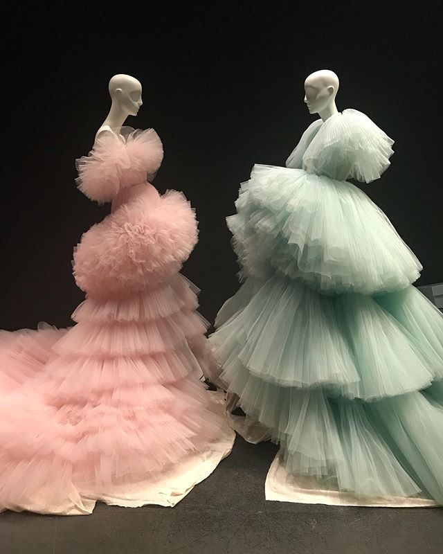 """Photo of Some of the largest objects on display in """"Camp: Notes on Fashion"""" are these… – New Ideas"""