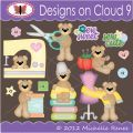 Designs on Cloud 9 Sew Sweet SVG and cutting files