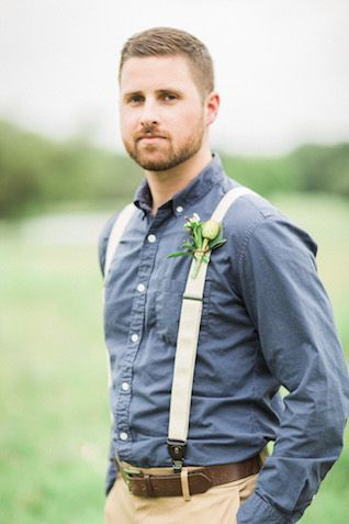 Rustic groom\'s attire | Sharon Nicole Photography | see more on ...