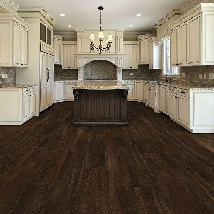 dark vinyl kitchen flooring. TrafficMASTER Allure Ultra Wide 8 7 in  x 47 6 Southern Hickory Luxury Vinyl Plank Flooring 20 06 sq ft case