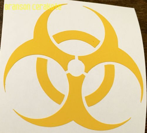 Biohazard Vinyl Stencil  We have this stencil and much more for sale in our online store.