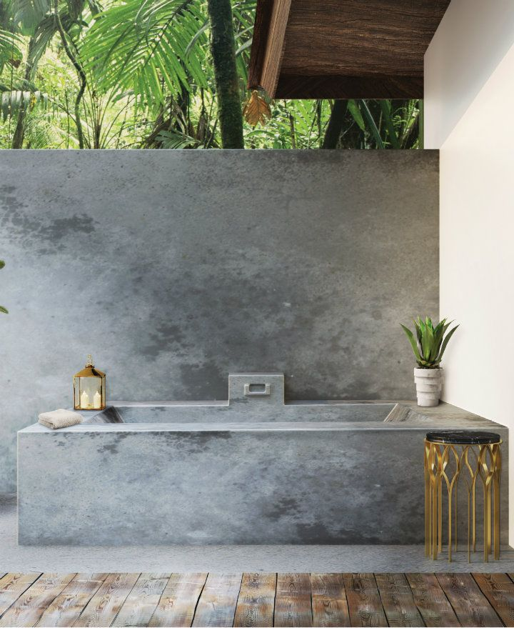 Inspiring Luxury Bathrooms With Marble Accents