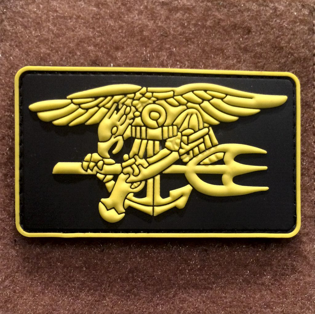 Navy SEAL Trident PVC Morale Patch