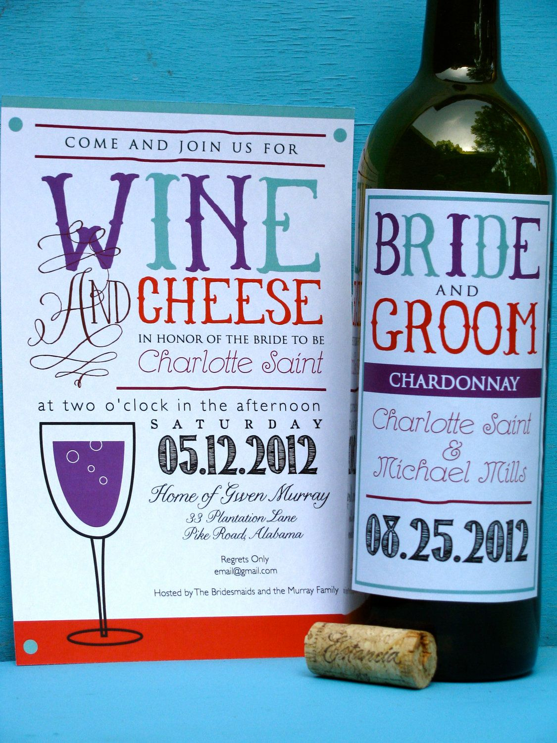 50 Wine and Cheese Party Invitations for by paigeburtondesigns. I ...