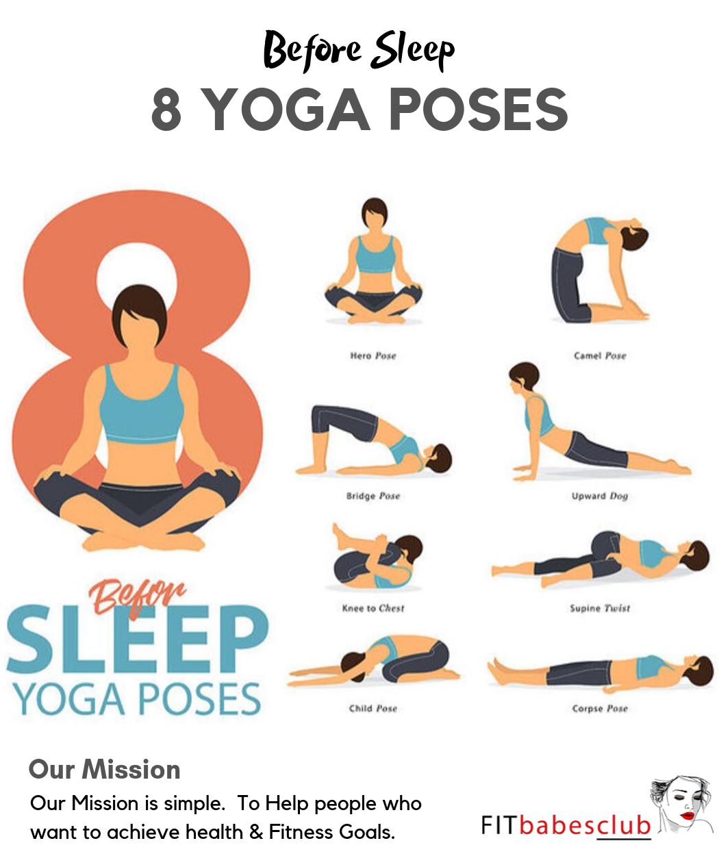 8 Yoga Poses Before Sleep Sleep Yoga Before Sleep Yoga Yoga Poses