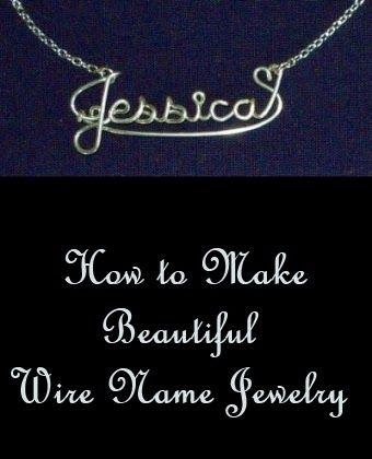 Wire Name Jewelry | Papier/Draht - Figuren | Pinterest ...
