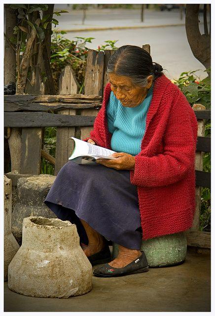 Flickr - Photo Sharing!Michael de la Paz Sitting Woman  Streets of Trujillo Peru