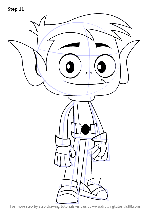 Coloring Pages Beast Boy Trend