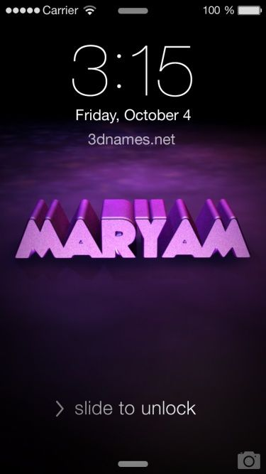 Preview of Big Purple for name: maryam   Images Wallpapers in 2019