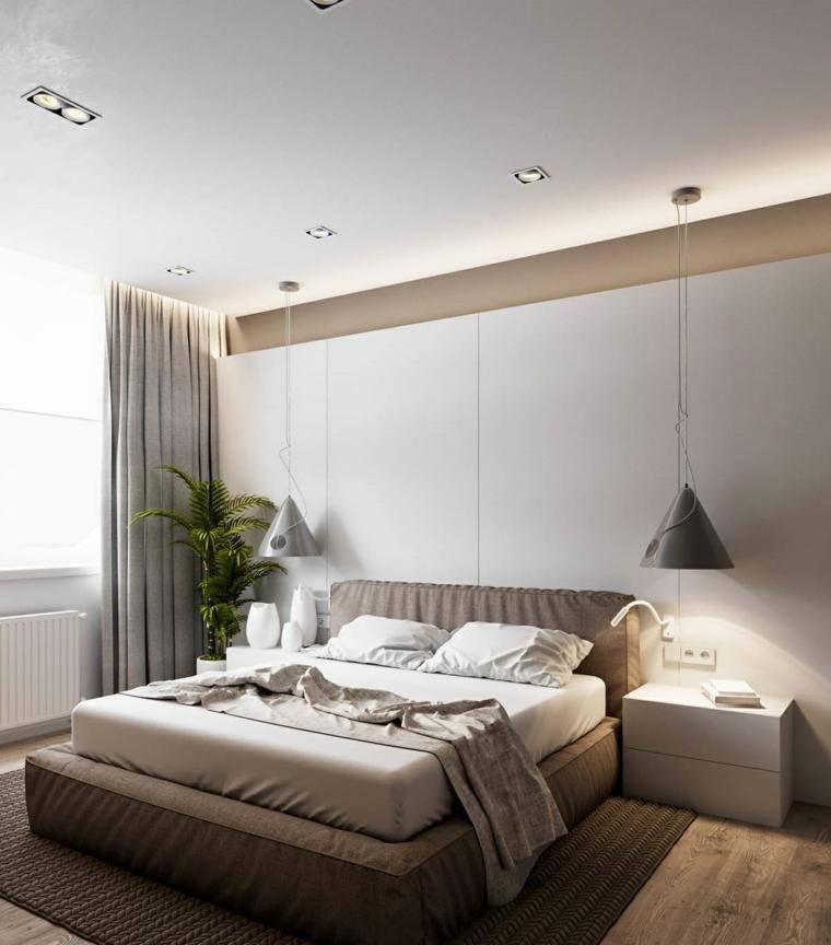 Feng Shui Bett und Dekoration für die Schlafzimmerideen