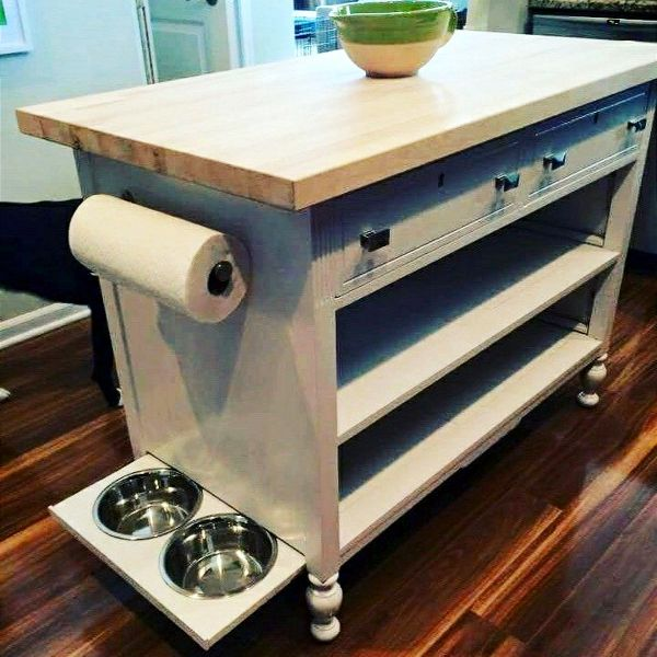 Kitchen Without Furniture: How To Repurpose A Dresser Without Drawers
