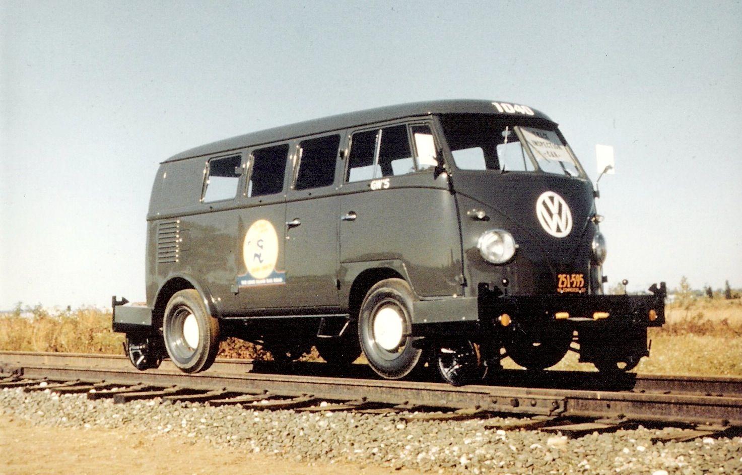 LIRR VW Railbuses geweldig Rail car, Volkswagen bus, Vw bus