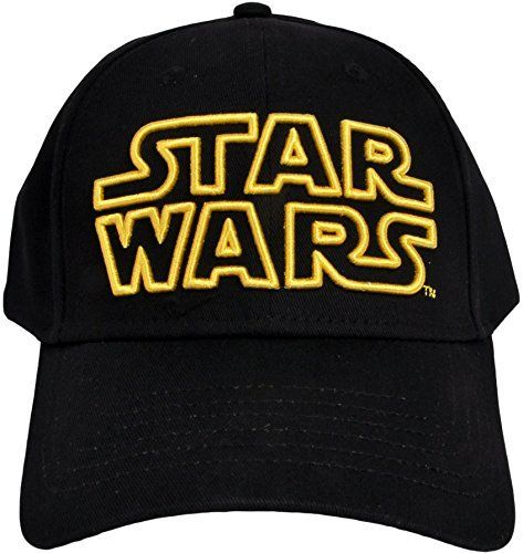 best authentic 4b09e fc89b Classic Star Wars Embroidered Logo Outline Adult Hat Baseball Cap, Black    Price