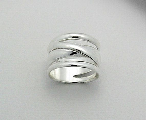 Bold Sterling Silver Ring