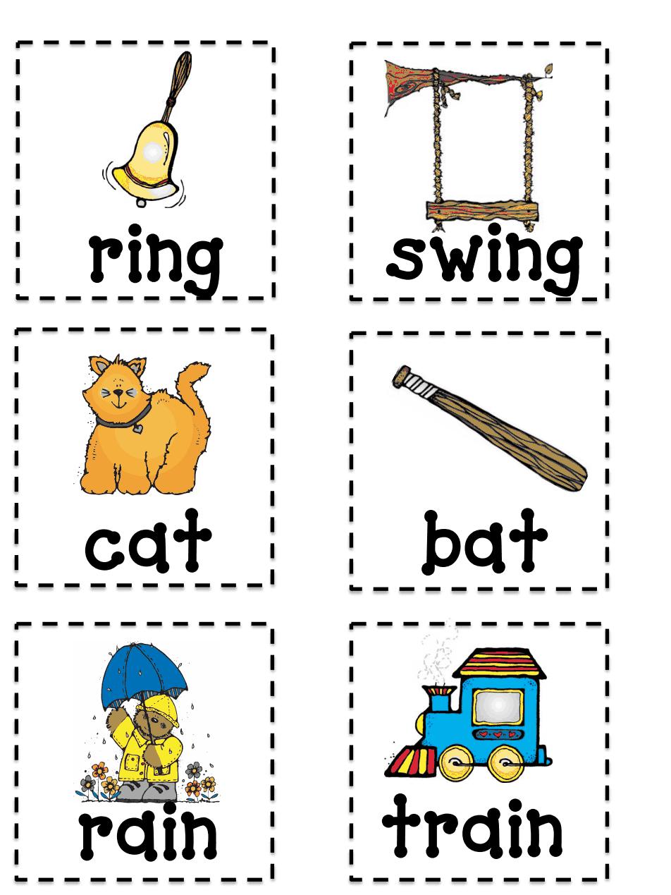 Rhyming Memory game.pdf Preschool activities, Rhyming