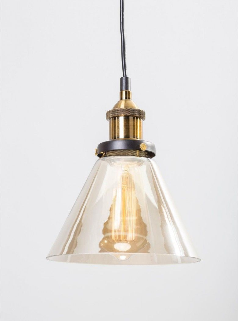 Gohe triangle glass pendant light