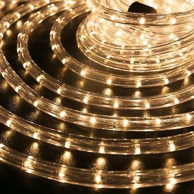 White Rope Lights Outdoor Christmas led rope lights pre assembled lighting outdoor garden christmas led rope lights pre assembled lighting outdoor garden 150ft warm white workwithnaturefo