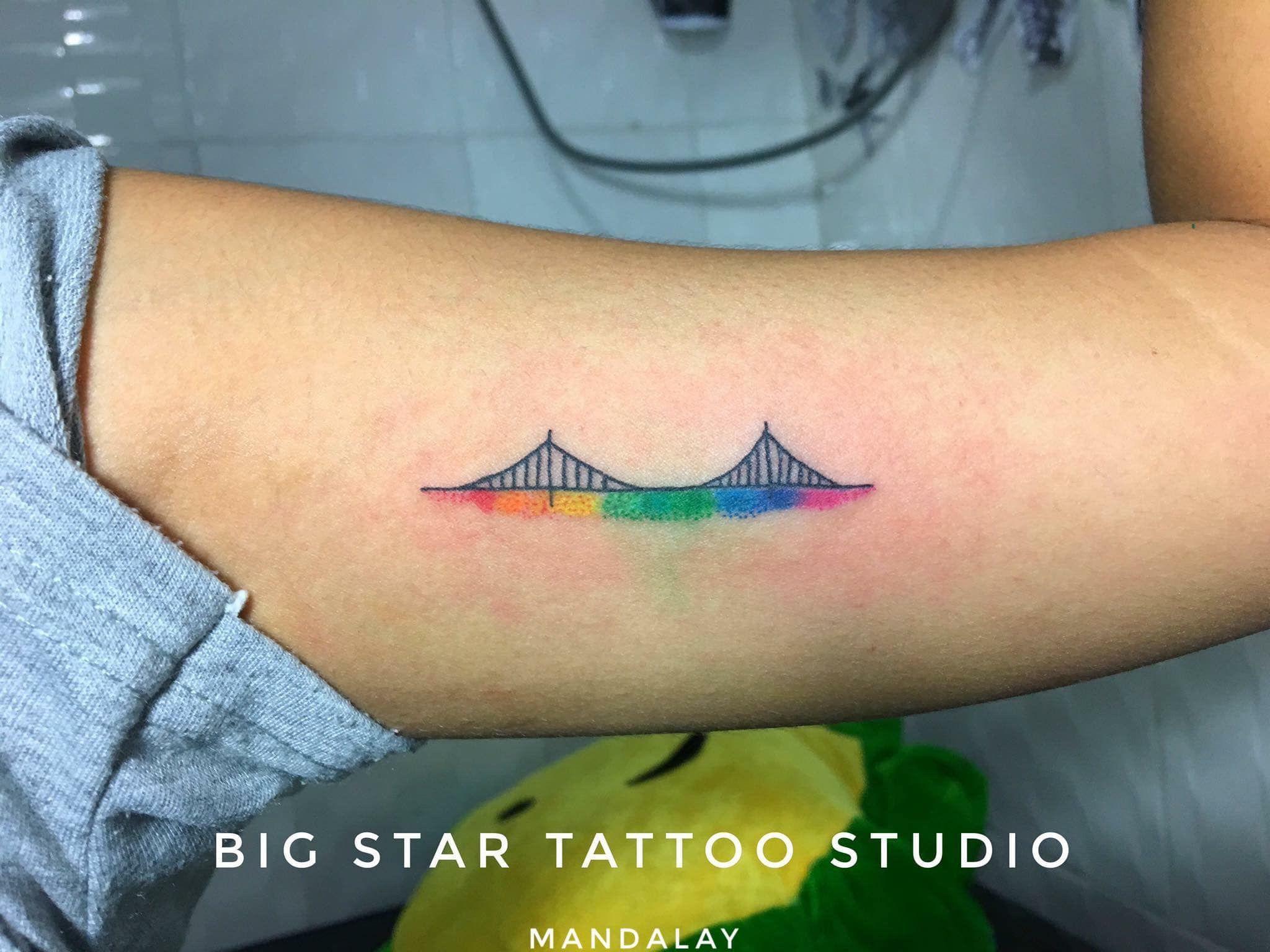 Bridge Tattoo In 2020 Tattoos Bridge Tattoo Female Tattoo Artists