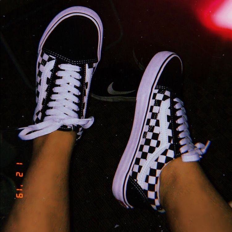 Vans Shoes | Womens Black And White