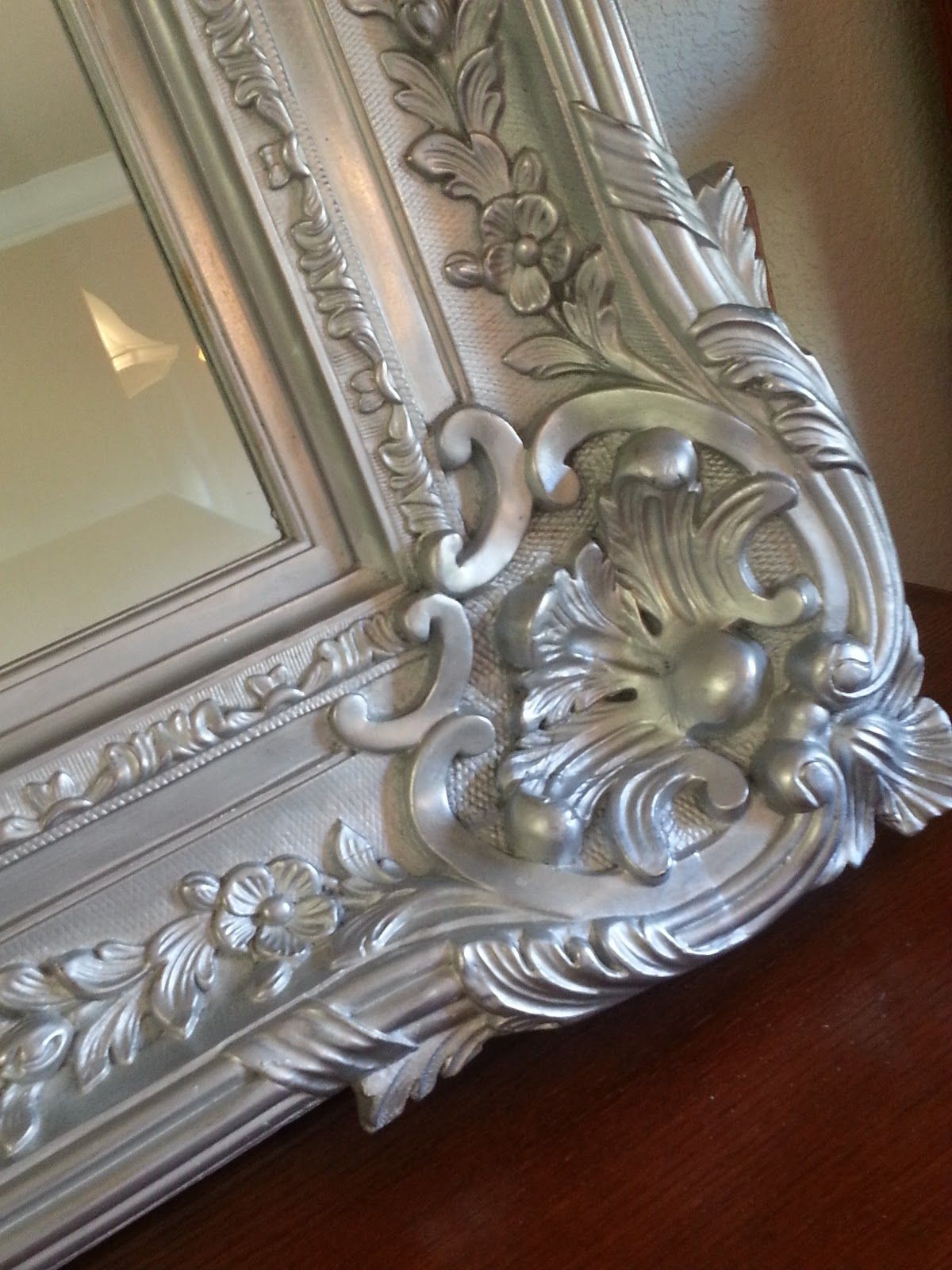 Small Apartment Mr Big And The Silver Mirror Old Mirrors Painting Mirror Frames Antique Mirror Frame