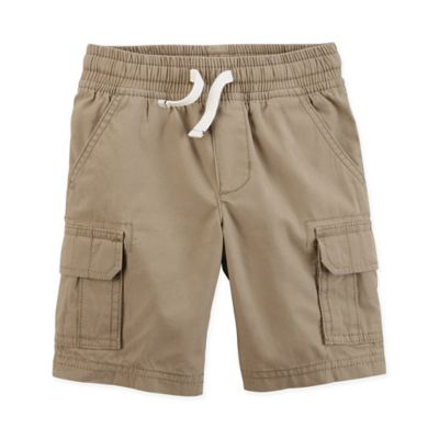 446971fb3 Carter's Size 3M Pull-On Cargo Short In Khaki | Products | Boys ...