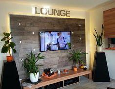 Tv wand raumteiler selber bauen  Wohnwand / TV Wand selbst gebaut - Teil 1 Laminat,tv wand,wohnwand ...