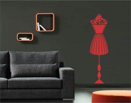 Papel de parede - Manequim