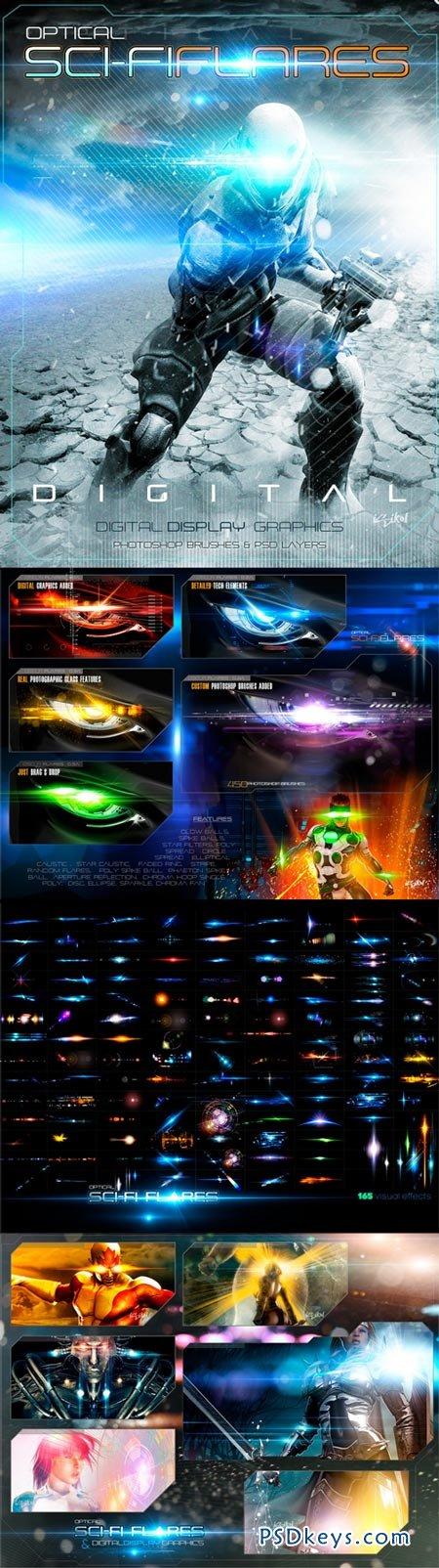 rons sci-fi optical flares