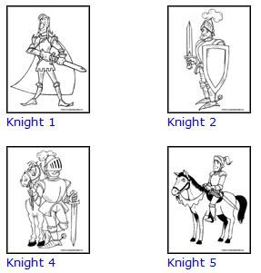 kings queens and dragon coloring pages
