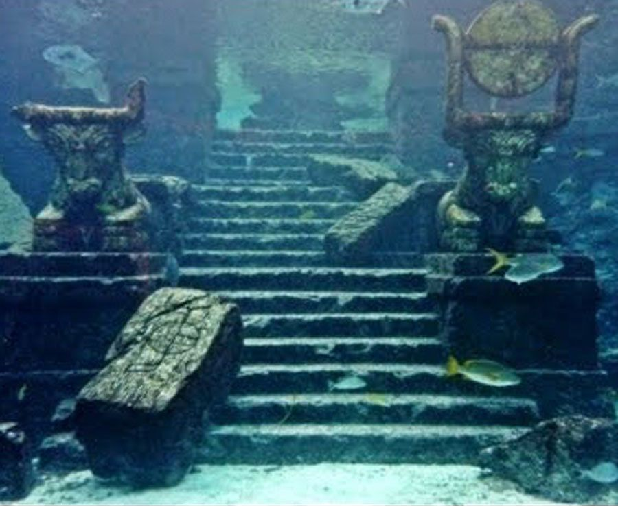 The Ancient City Of Dwarka In Gulf Of Khambhat India 3 Ancient Atlantis Ancient Underwater City