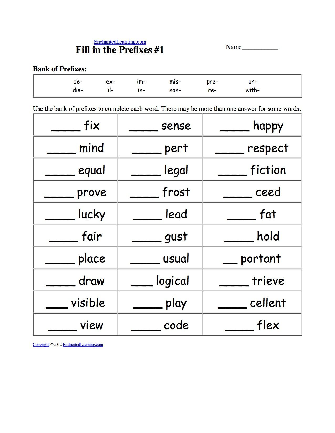 3 Worksheet Vocabulary Worksheets First Grade 1 Identify