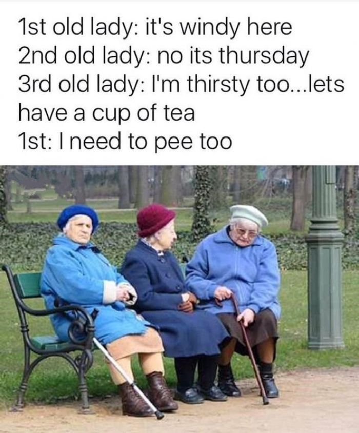 Old people are funny