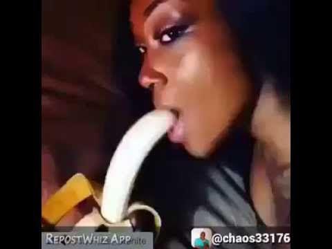 Who is banana blowjob girl
