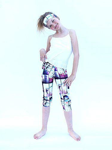 e5bdeb7df1 YogaBerries KIDS Capri Yoga Pants + Matching Headband. Pr... http:/