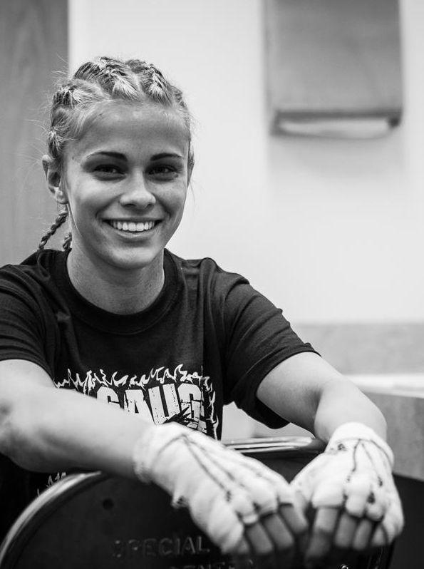 Paige Van Zant MMA Mma girl fighters, Female fighter