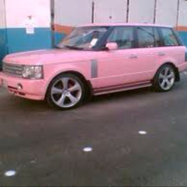 A Pink Range Rover! I wish I still had my white one, I'd be painting it!!! ♥ #pinkrangerovers A Pink Range Rover! I wish I still had my white one, I'd be painting it!!! ♥ #pinkrangerovers A Pink Range Rover! I wish I still had my white one, I'd be painting it!!! ♥ #pinkrangerovers A Pink Range Rover! I wish I still had my white one, I'd be painting it!!! ♥ #pinkrangerovers