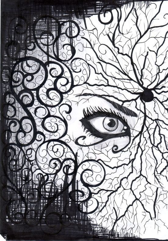 Eye Catching Abstract Sketches Pinned With Bazaart Www