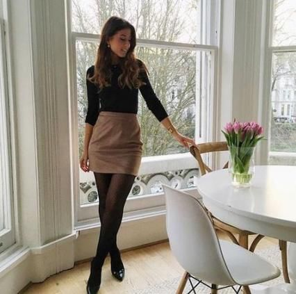 36 Ideas Skirt Black Tights Work