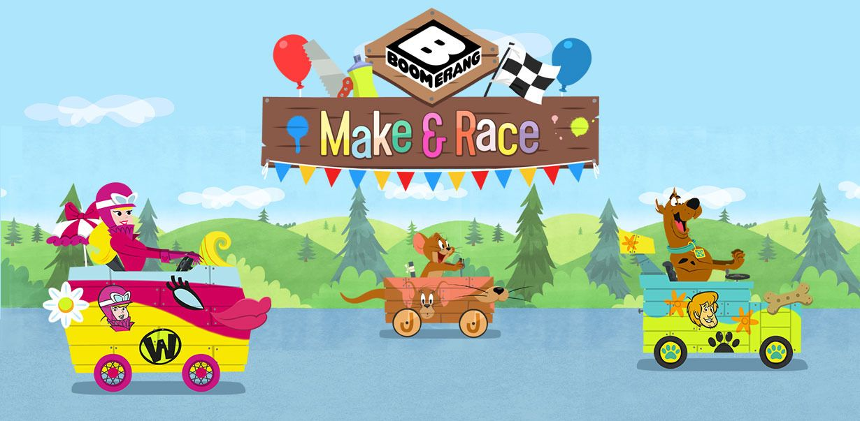 Wacky Races Games, videos and downloads Boomerang