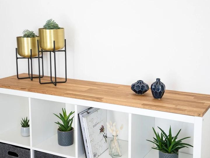 Holzplatte für IKEA Kallax Regal 4 Fächer breit