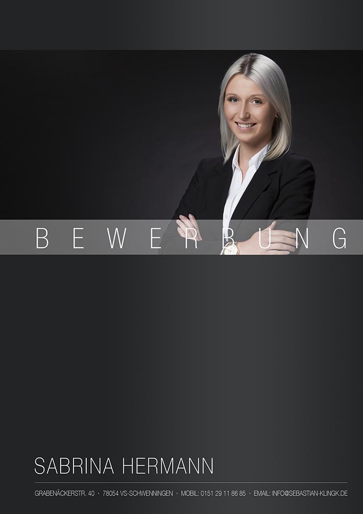 Business Bewerbungsbild Deckblatt Portrait Bewerbung Business