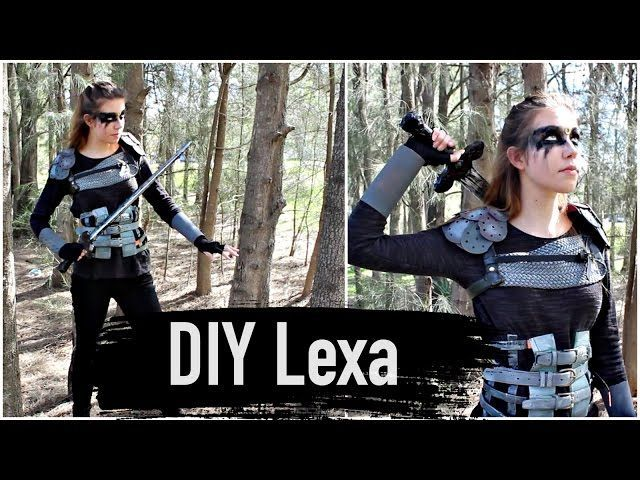 DIY Commander Lexa Costume- The 100 Cosplay Tutorial | Natasha Rose - Video --> http://www.comics2film.com/diy-commander-lexa-costume-the-100-cosplay-tutorial-natasha-rose/  #Cosplay