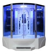 Steam Showers 4 Less.com Mesa 608P Steam Shower And 2 Person Jetted Tub  Located