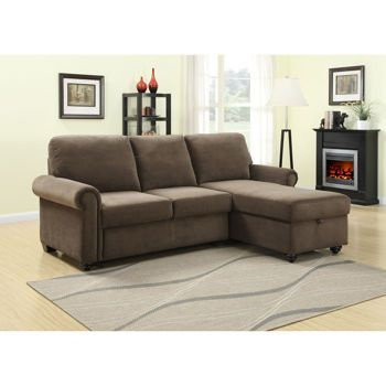 Newton Rolled Arm Sofa Chaise Convertible Bed; Has Storage As Well. At  Costco Online
