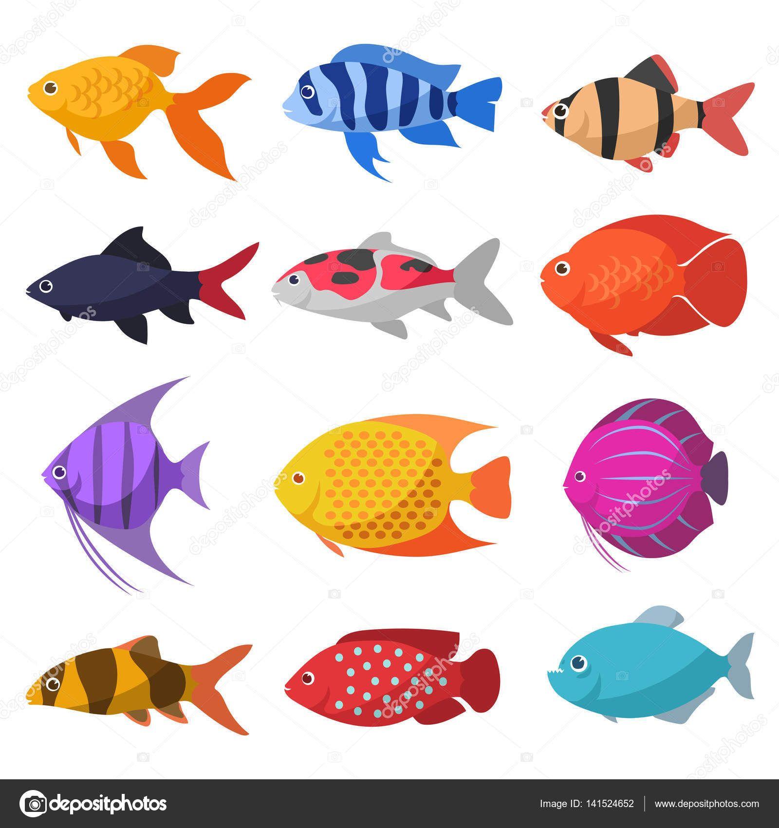 Resultado de imagen para peces de rio dibujos esculturas for Pegatinas de peces