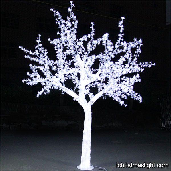 White Acrylic Led Crystal Trees Manufacturer Ichristmaslight Outdoor Led Christmas Lights Crystal Tree Led Christmas Lights